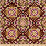 Istanbul Metallic Medallion Fuchsia
