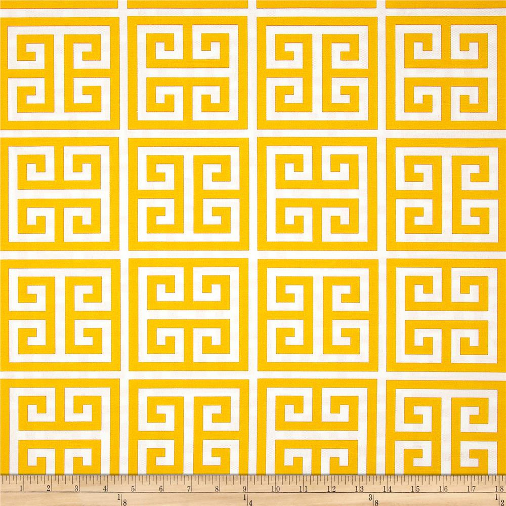Premier Prints Indoor/Outdoor Towers Citrus Yellow
