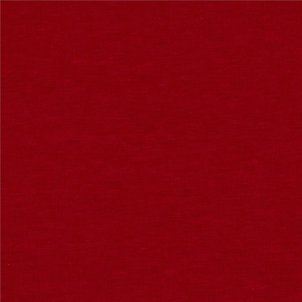 Laguna Stretch Cotton Jersey Knit Red
