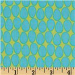 209261 Frippery Eggs Allover Green/Blue