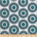Riley Blake Indie Chic Circle Blue