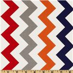 FT-364 Riley Blake Chevron Medium Red/Boy