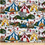 0270067 Daphne&#39;s Circus Circus White