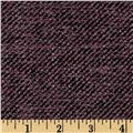 Boucle Coating Small Check Mauve/Plum
