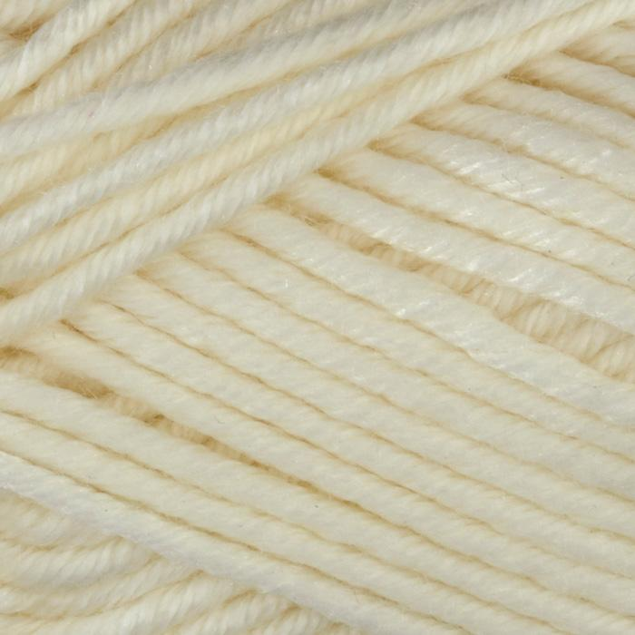 Martha Stewart Extra Soft Wool Blend Yarn (500) Bakery Box White