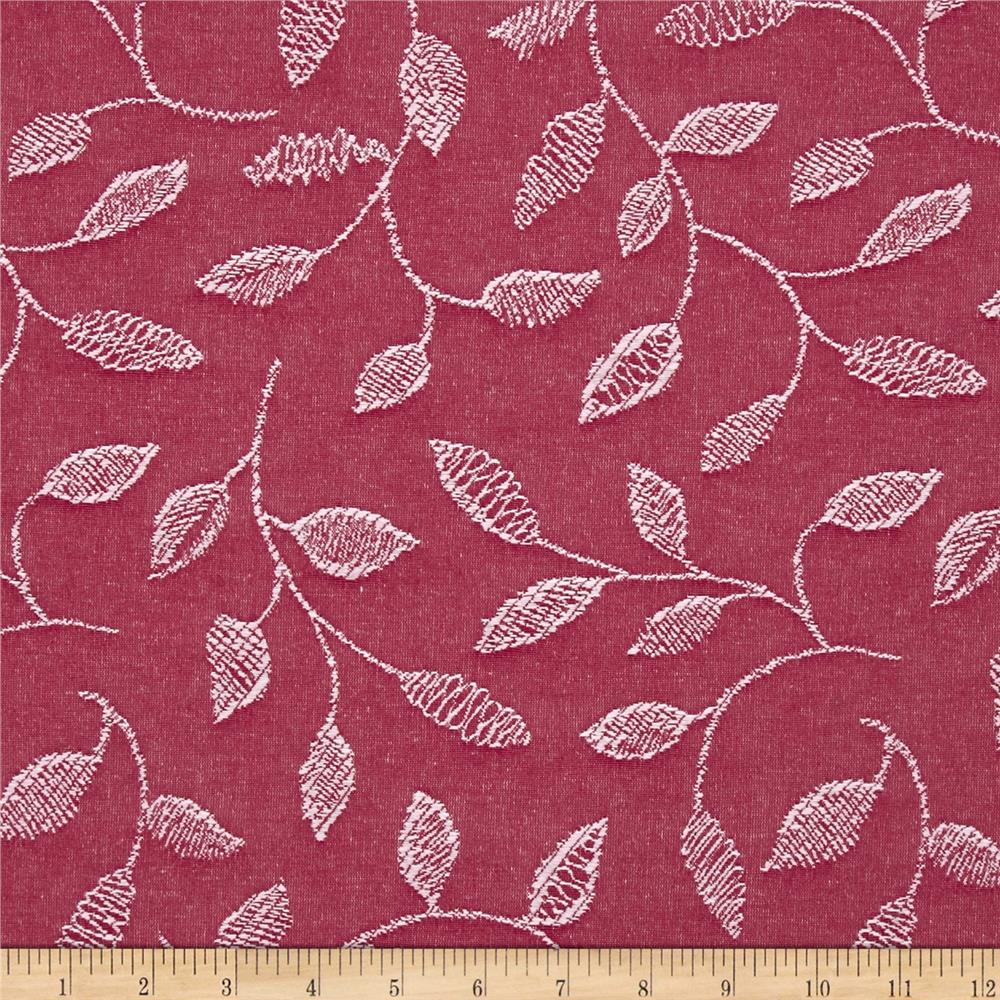 Covington Embroidered Sabrina Raspberry