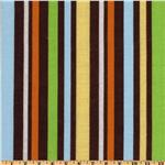EF-065 Safari Tots Stripe Brown
