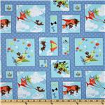 Susybee Zig Patchwork Blue