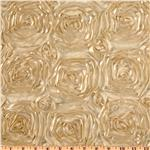 UN-045 Splenda Satin Ribbon Rosette Beige