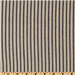 FB-080 32&quot; Down-proof Ticking Stripe Blue/Cream