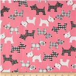 0289927 Whiskers & Tails Scotty Dogs Pink