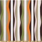 Annette Tatum Mod Stripe Brown/Orange