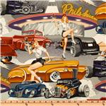 EV-320 Pin Ups Phil's Drive In Vintage