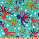 FD-204 Oceans Away Octopus Aqua