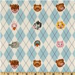 0262312 Noah's Ark Argyle Blue