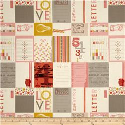 Moda Twenty Three Love Letters Parchment