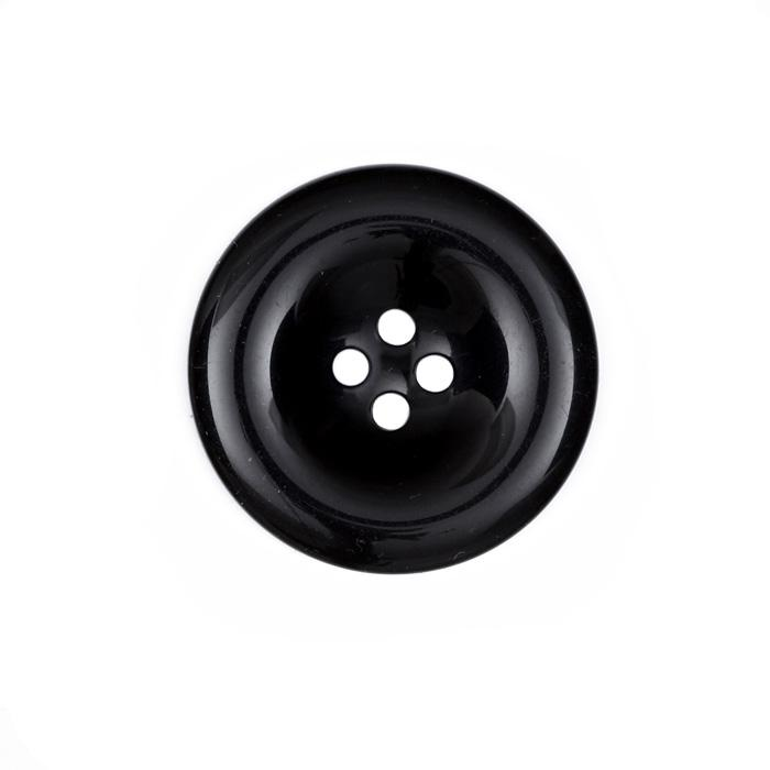 Fashion Button 1 3/8&#39;&#39; Salem Black