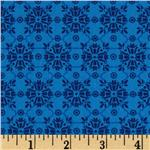 Mediterranean Dream Foulard Blue