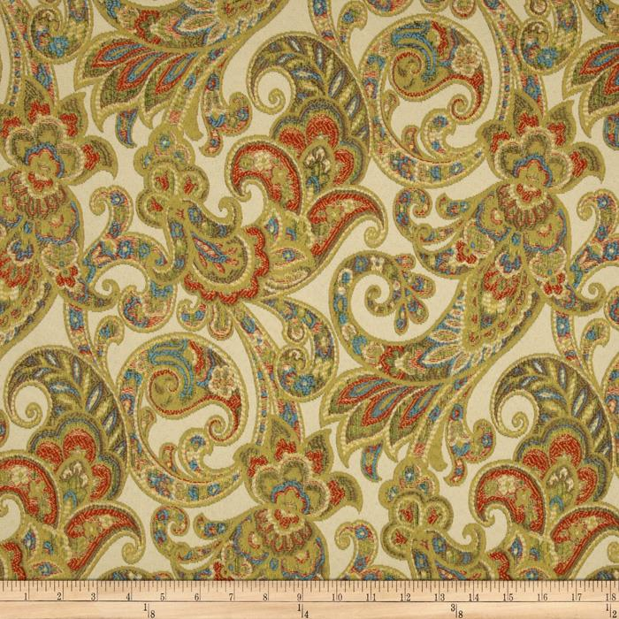 Tempo Grand Paisley Jacquard Gold