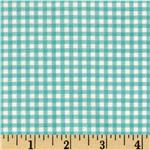 205094 Riley Blake The Simple Life Simple Gingham Aqua