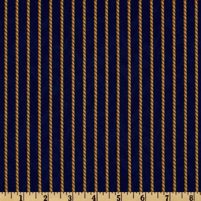 Safe Harbor Rope Stripe Blue