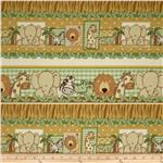 0274370 Kimba Animal Repeating Stripe Brown