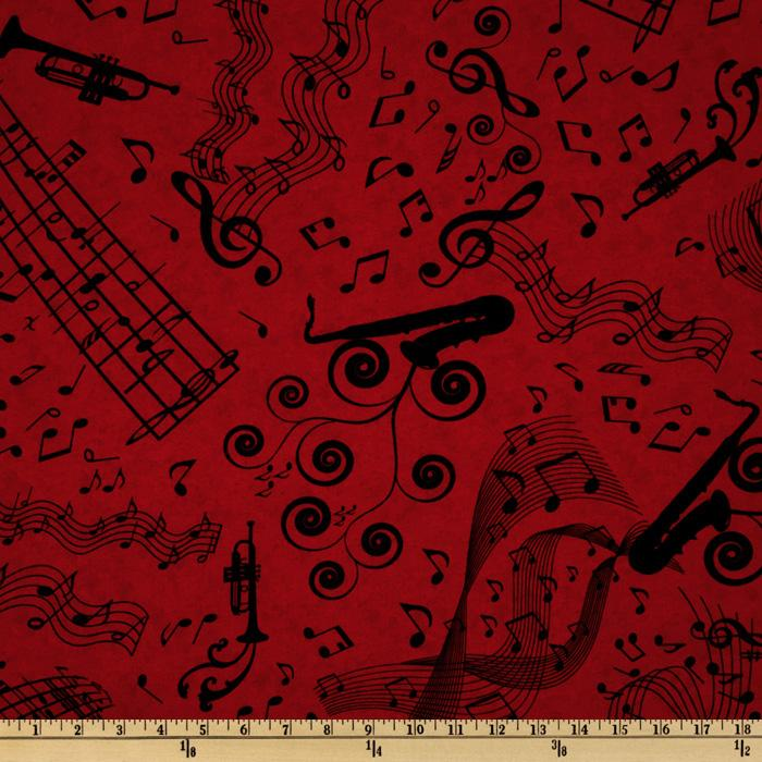 Good Vibrations Music Bars Red
