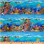 FD-162 Paradise Coral Reef Aqua