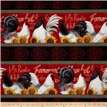 201563 Country Touch Border Stripe Multi