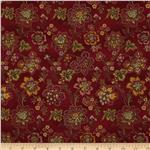 232312 Hampton Farm Large Floral Red