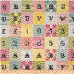 Love Notes Letters Patchwork Multi