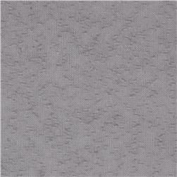 Stretch Tissue Slub Hatchi Knit Silver