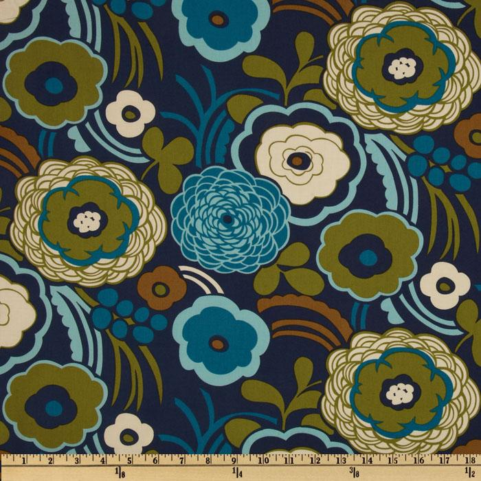 Olympia Mocca Large Floral Navy
