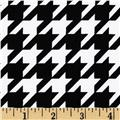 Maya Print Houndstooth Black/White