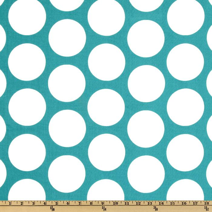 Premier Prints Dandi Dot True Turquoise