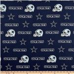 DL-961 NFL Cotton Broadcloth Dallas Cowboys Blue