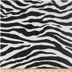 0270264 Michael Miller Laminate Zebra Stripe Black