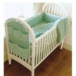 Kwik Sew Crib Comforter, Bed Skirt, Fitted Sheet, Bumper Pad &amp; Organizer Pattern