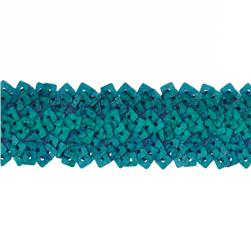 "1 3/4"" Stretch Square Sequin Trim Turquoise"