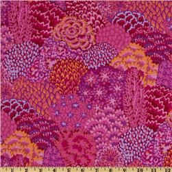 Kaffe Fassett Fall 2012 Collective Oriental Trees Magenta