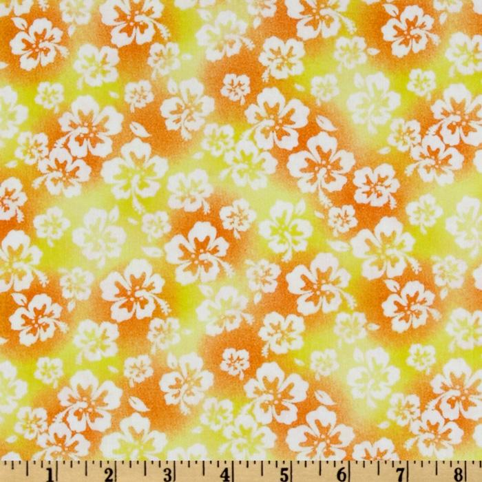 Fun In The Sun Floral Yellow/Orange