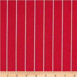 Michael Miller Textured Basics Shoreline Stripe Red