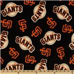CW-807 MLB Fleece San Francisco Giants Toss Black