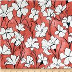 Cosmos Daylillies Coral/Cream