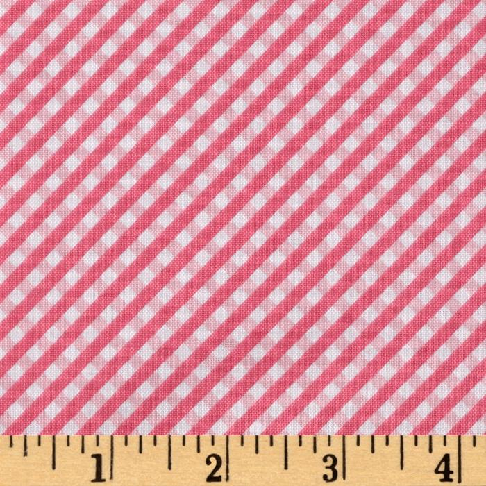 Riley Blake Happy Ever After Gingham Pink