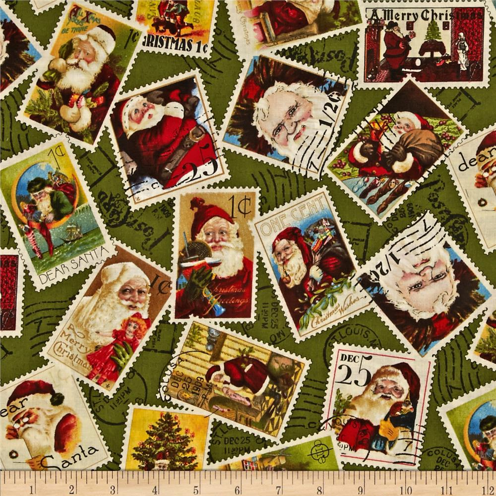 Dear Santa Stamps Toss Forest