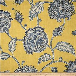 Duralee Home Agathe Floral Blue/Yellow