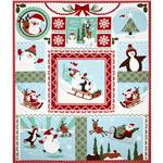Moda Joy Holiday Fun Panel Snow