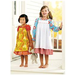 Ellie Mae Precious Meadow Dresses Pattern