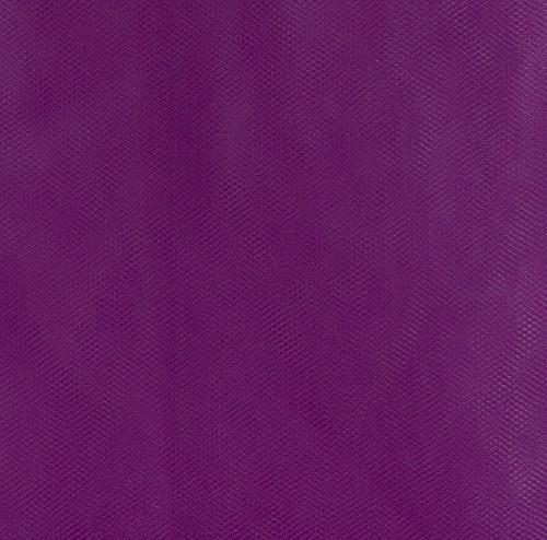 108&#39;&#39; Wide Nylon Tulle Purple
